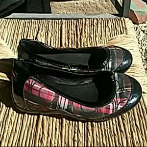 Coach Plaid Shoes - Perfect for the Christmas